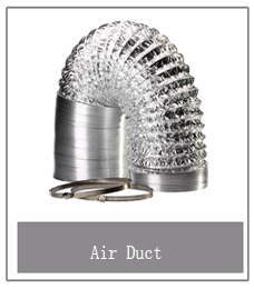 Orientrise 4,5,6,6.5,8 inch Hvac system aluminium foil air duct flexible