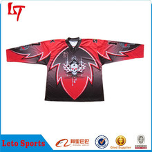 custom sublimated league hockey jersey/Professional Supplier embroidery hockey shirt /custom youth hockey apparel