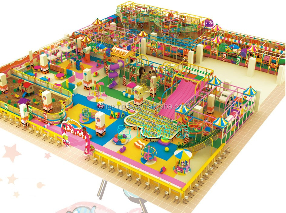 Incredible design forest series naughty castle for kids indoor playground