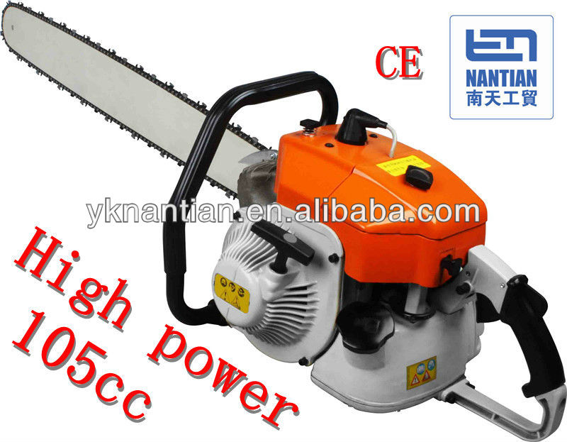 NT-MS070 / 105CC gasoline chain saw/strong power