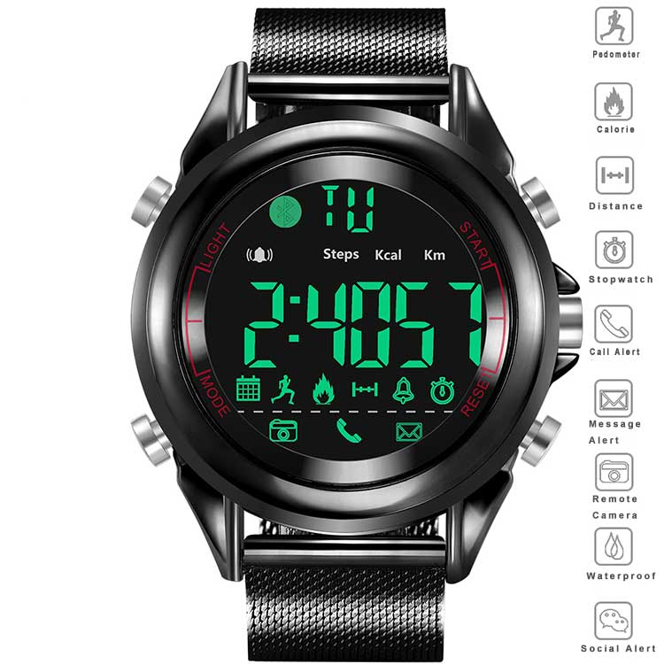 smart watch with backlight
