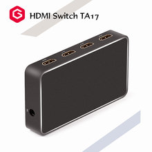 HDMI 2.0 3X1 SWITCH with singal display machine wireless remote control Up to 1080P@60Hz support watch TV