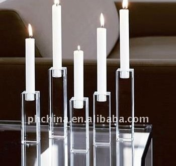ACLH_009 Acrylic Memorial Candle Holder / Candle Stand / Candleholder