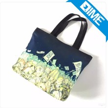 Eco-Catching Cotton Fabric Tote Beach Bag