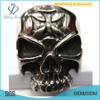 cheap skull ring,biker ring,skull head ring