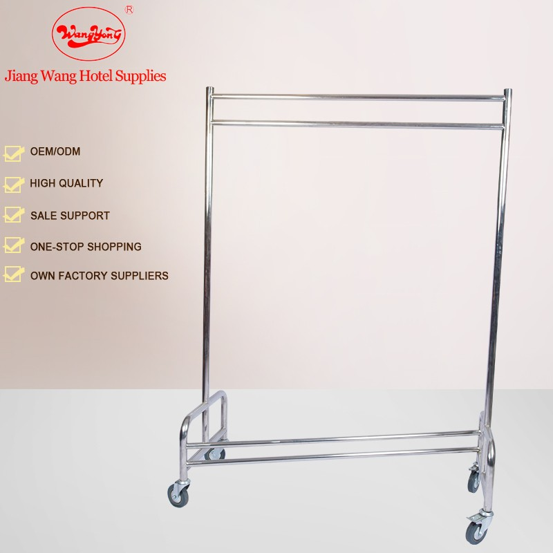 Stainless Steel Clothes Drying Hanger Rack trolley