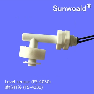 Side mounted OEM PP float ball water level sensor
