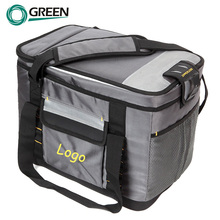 Insulated compartment food delivery cooler bag for frozen food