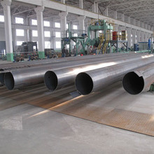 API 5L LSAW Welded Water Well Steel Pipes, Epoxy / Black Paint/zinc Coating Carbon Steel Pipes
