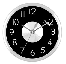 Large 60cm aluminum frame wall clock approve ISO9001 ROHS&CE