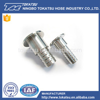 China wholesale custom stainless steel bellmouth pipe fitting
