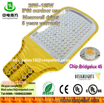 led street light ce DLC UL cUL OEM new quality meanwell hlg driver retrofit kit top quality
