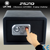 fingerprint safety deposit box hotel digital biometic cheap cash drawer safe
