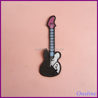 embroidery patch sew on, guitar patch