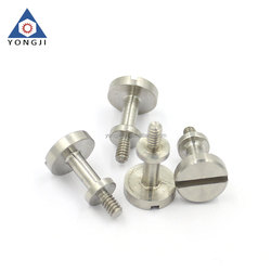 Stainless Steel Precision Slotted cheese Head screws