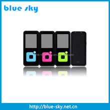 Hot sell 1.8 inch mp4 player 4gb with memory card slot