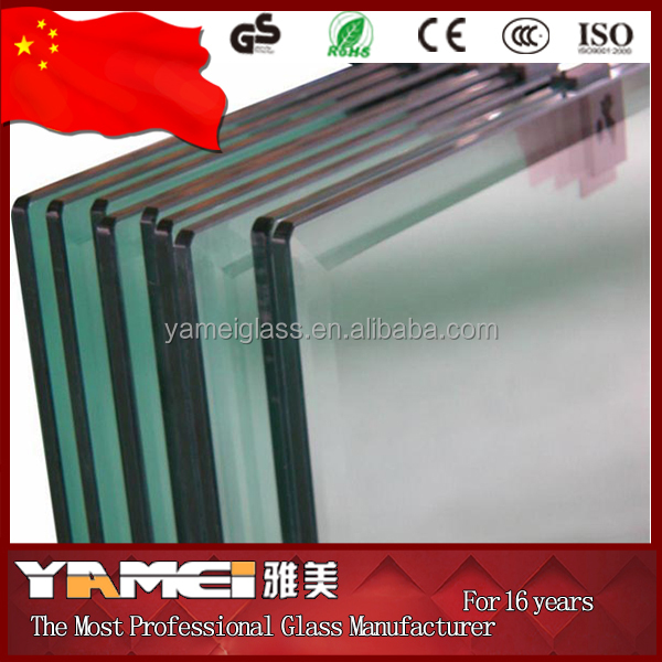 China supplier high quality building glass 10mm tempered glass
