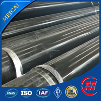 weld steel pipe astm a120 black coating outside surface