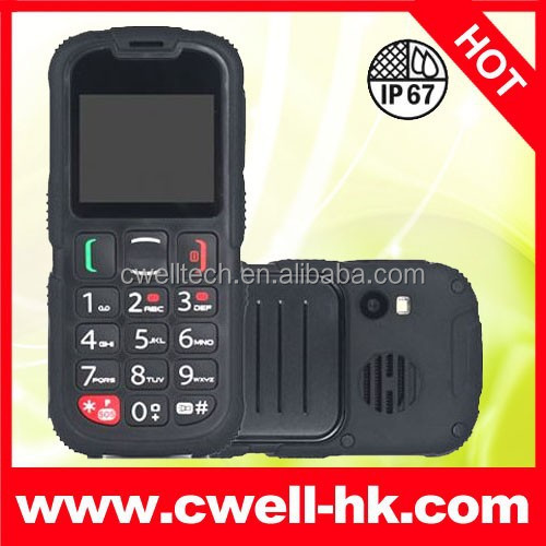 Mini Rugged IP67 Mobile Phone Waterproof Low Price China Brand Good Quality
