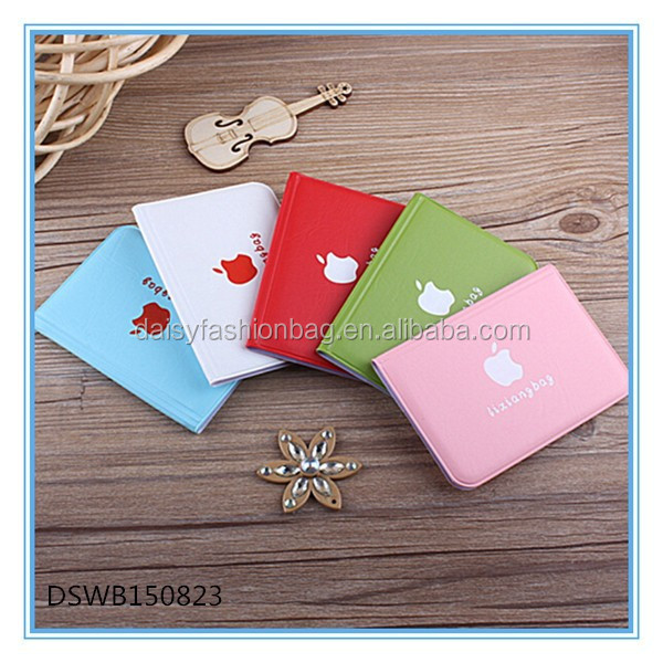 cheap promotion lady card wallet, popular credit card purse
