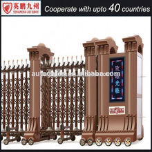 Scaffolding Reversible ladder access control gate