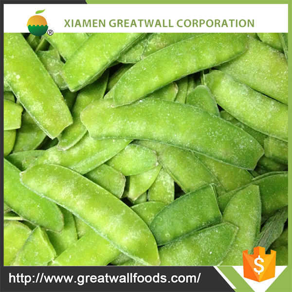 2016 Chinese IQF Frozen Snow Pea Pods