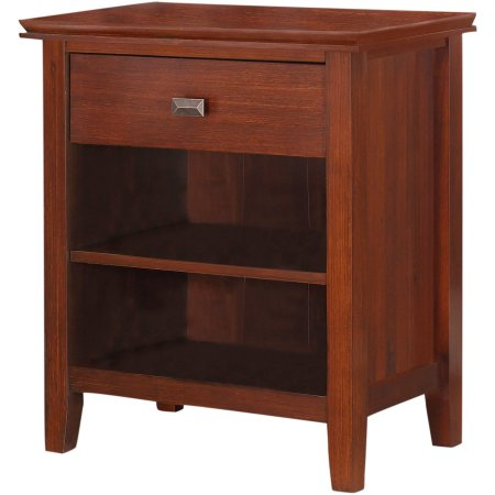 Bigger Holden Two Shelves One Drawer Cheap Bedside Table Wood Night stand