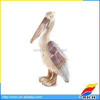 2017 New Design Resin Pelican Figurines Home Decor