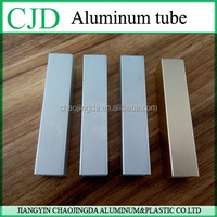 high quantity the best price thin wall aluminum square tube