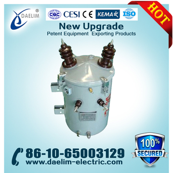 6.3kv 160kva Single Phase Transformers Copper Winding Materials