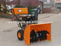 13HP CE approved wheel walk gas snow blower