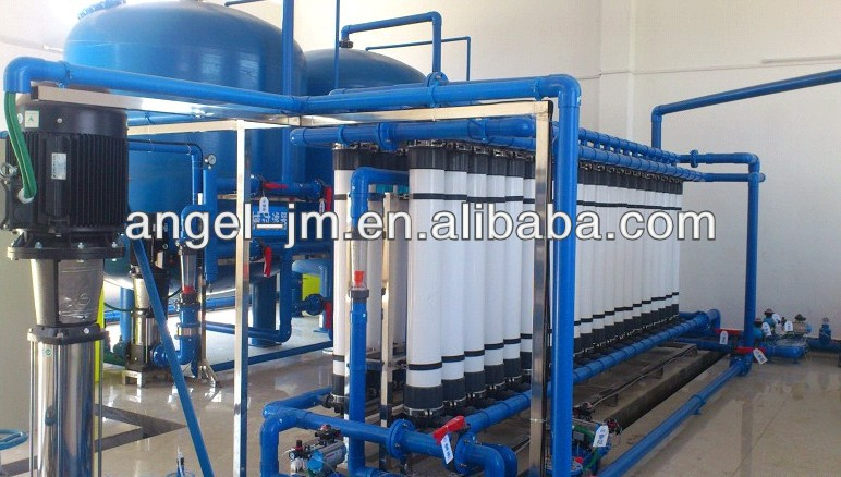 water treatment unit with capacity 800 cubic meter/day/Water treatment prefilter+UF filter
