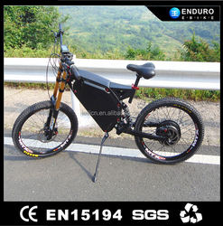 coolest 1500w big motor electric rechargerable bikes enduro bicycle