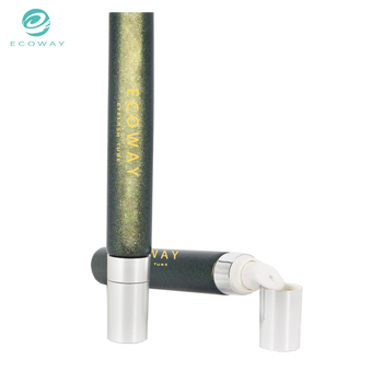 Plastic small eye cream cosmetic tube packaging for skin care
