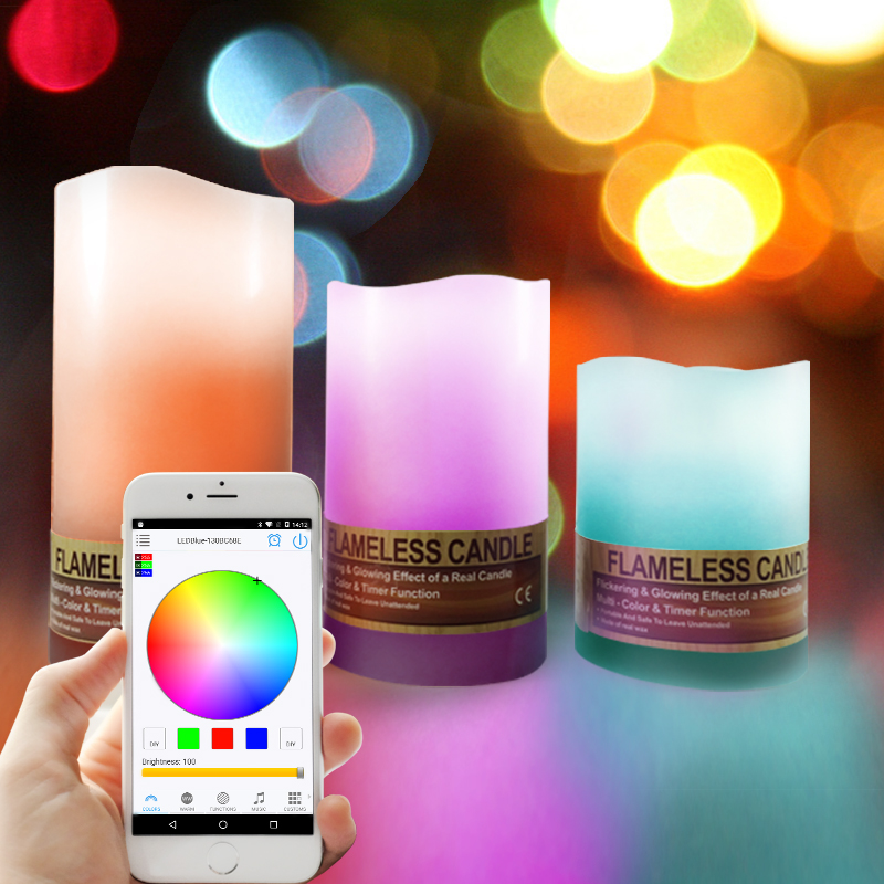 marketing new product,smart led led candle windproof