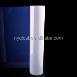 Waterproof semi-transparent mylar film for inkjet printing