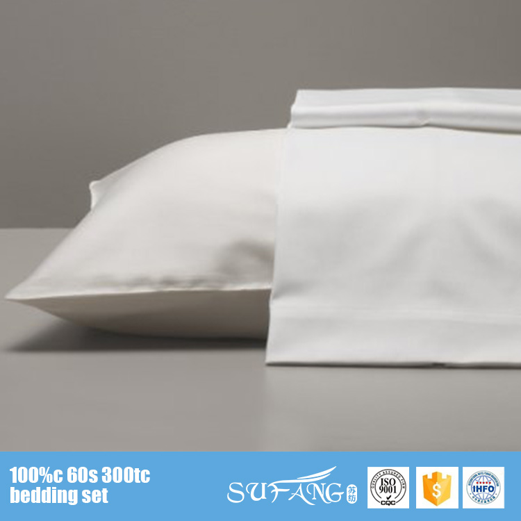 Hotel Suppliers Wholesale 100 Cotton White Satin Pillowcase/Hotel Washable Pillow Cases/Hotel Linen Custom Pillow Case