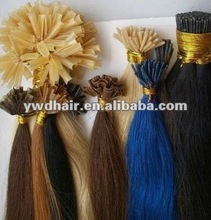Wholesale Cheap Indian Remi Pre-bonded U Tip Hair Extensions, Single Drawn