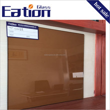 Eation 6mm Thick Tempered Colored Coated Glass Reflective Glass