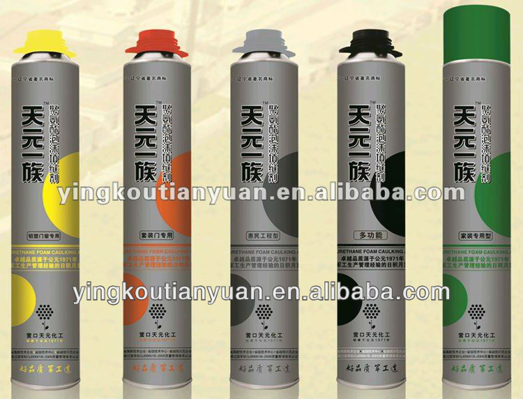 high quality expanding pu foam sealer/adhesive polyurethane sealants facory in China