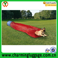 2016 Wholesale Pet Products 210D Polyester dog play tunnel