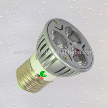 3w osram dimmable led spotlight mr16