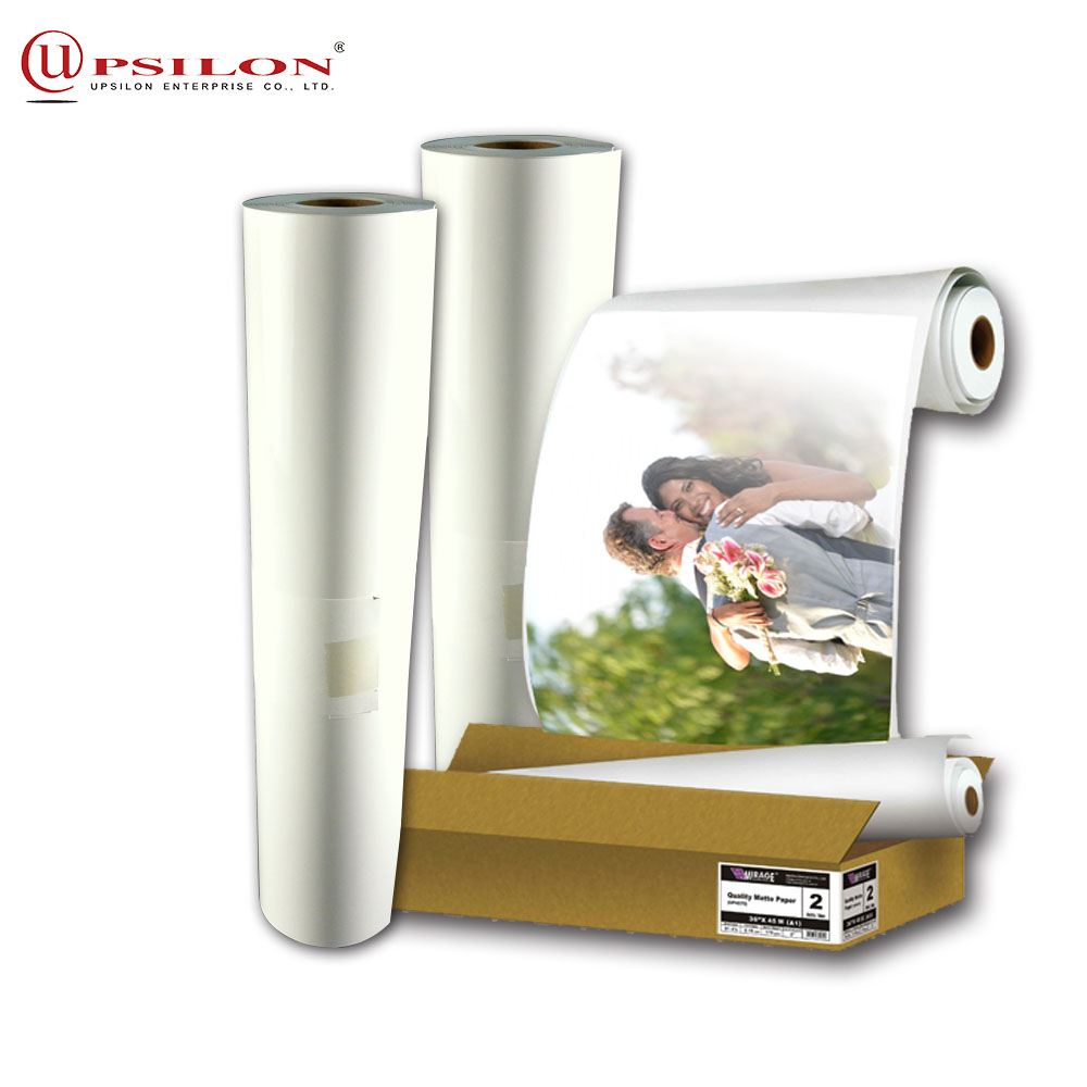 Resistanc Water Roll Size Matte Photo Paper Lucky For170Gsm