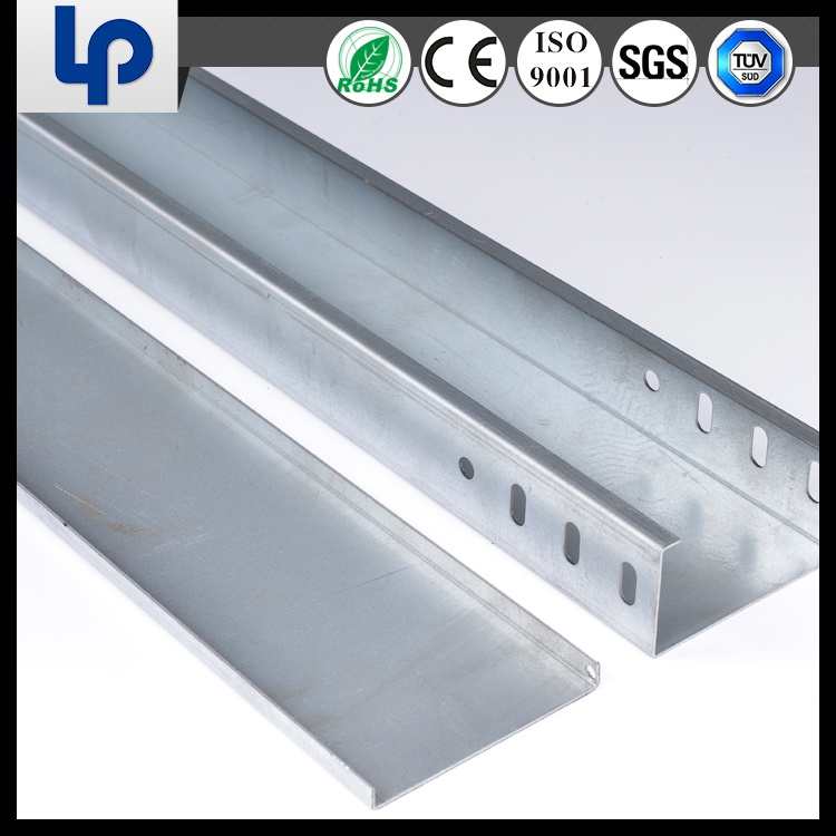 china cheap galvanized or power coated steel GI metal gi trunking and cable tray(rohs tuv sgs )
