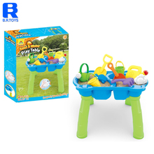 Kids Toddler Water Play Table Beach sand toy with bucket