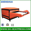 Large format double stations hydraulic heat press machine