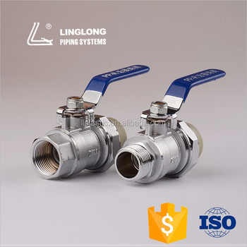 High quality brass material ball valve with female thread