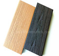 External water-proof co-extrusion wood plastic composite wpc decking floor with bio-color