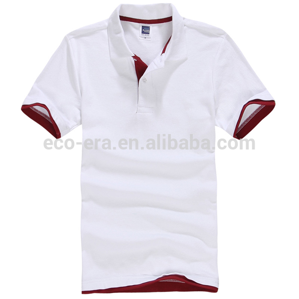 China Wholesale Clothing Polo Shirt 200g 65 Cotton 35 Polyester T shirt Polo Shirt Design With Combination