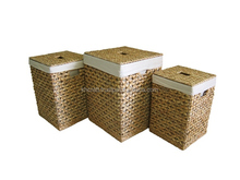 Water hyacinth Laudry Hamper - New product for 2016, good for household